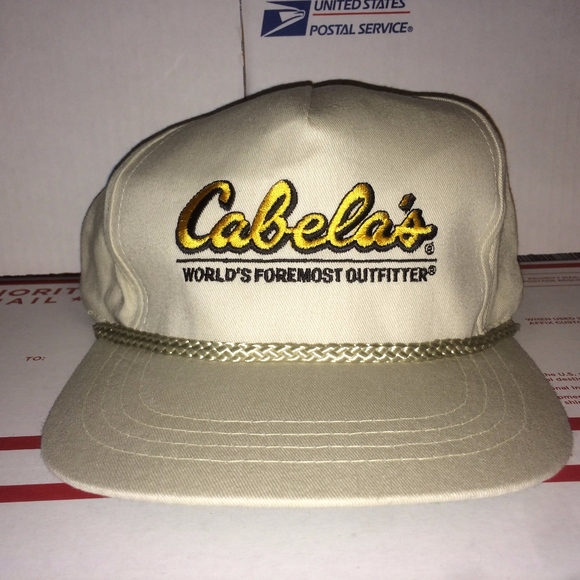 Cabela s Other - Cabela s vintage Hat Cap Hunting Fishing ... f3dfac98dd59